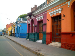 colorful houses