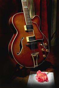 guitar with rose las mananitas song
